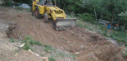 démarrage du chantier maison