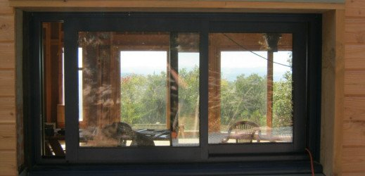 Bardage et bricolage fenêtres